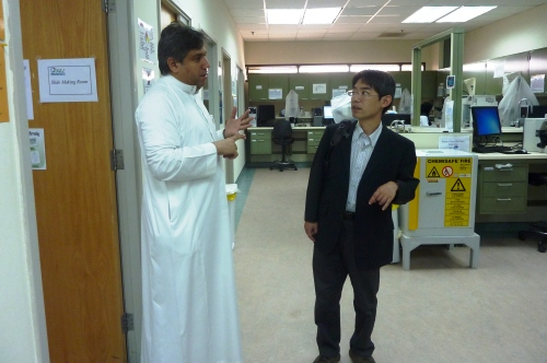 Visitors from Japan - Prof. Osamu